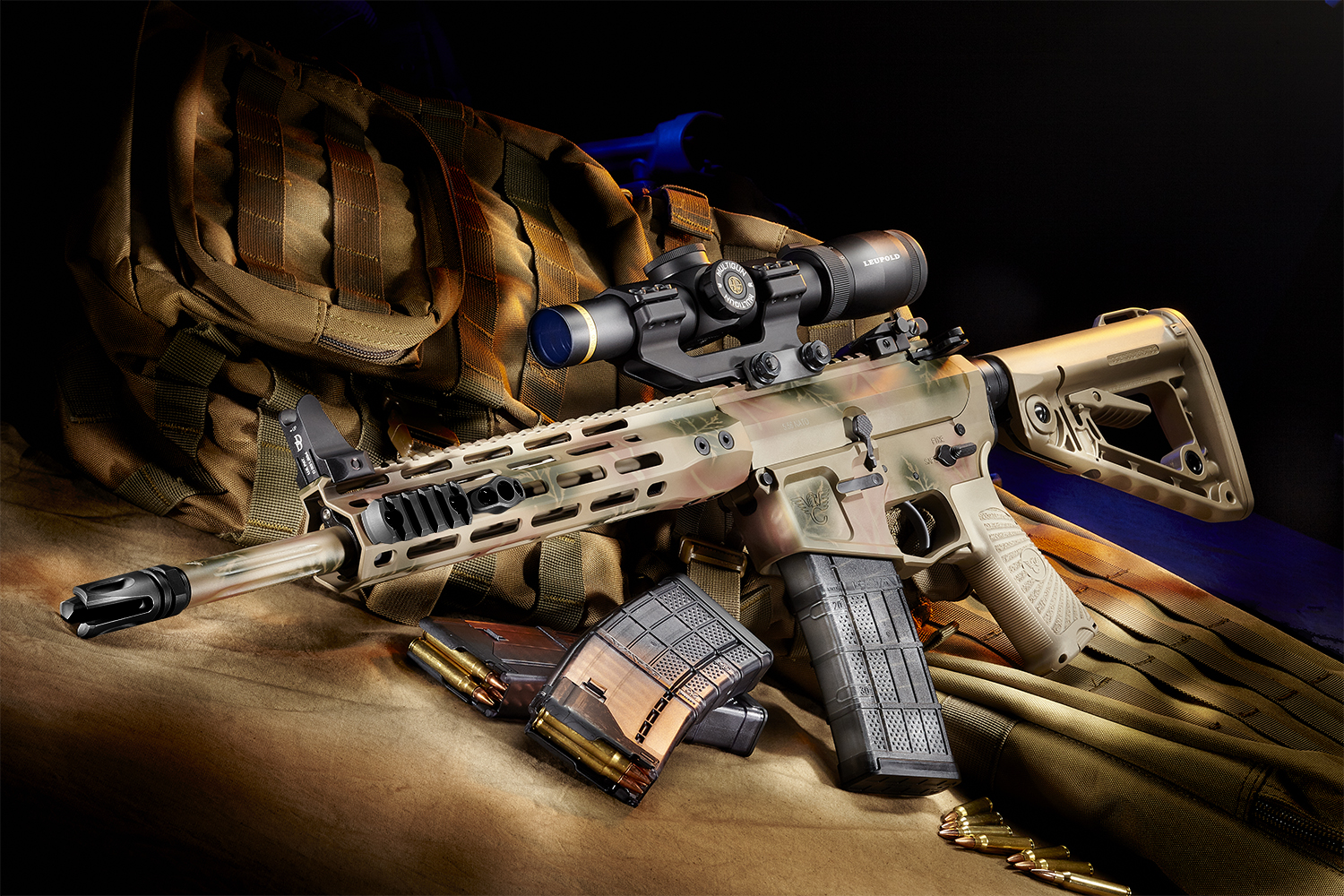 Wilson Combat Paul Howe Tactical Carbine Glamour Right Side